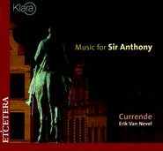 Music for Sir Anthony cover