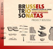 BRUSSELS TRIO SONATAS cover