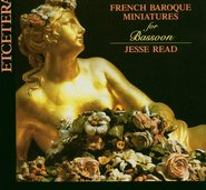 French Baroque Miniatures for Bassoon cover