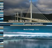 Canto Ostinato for harp cover