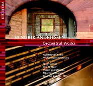 Orchestral works H. Andriessen cover