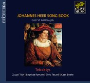 Johannes Heer Song Book cover