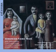 Armenian Piano Trios cover