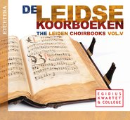 The Leiden Choirbooks - Vol. V cover