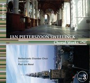 Choral Works Sweelinck - Volume 3 cover