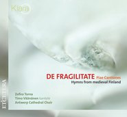 De Fragilitate - Piae Cantiones cover